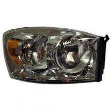 2007 -  2009 Dodge Ram 3500 Front Headlight Assembly Replacement Housing / Lens / Cover - Right (Passenger) Side