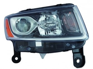 2014 -  2015 Jeep Grand Cherokee Headlight Assembly - Right (Passenger) Side