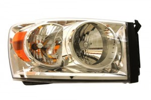 2007 -  2009 Dodge Ram 3500 Headlight Assembly (CAPA Certified) - Right (Passenger) Side Replacement