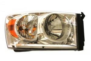 2007 -  2009 Dodge Ram 3500 Headlight Assembly (CAPA Certified) - Right (Passenger) Side
