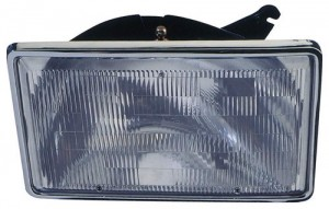 1990 Chrysler Town & Country Front Headlight Assembly Replacement Housing / Lens / Cover - Left (Driver) Side