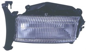 1997 -  2004 Dodge Dakota Front Headlight Assembly Replacement Housing / Lens / Cover - Left (Driver) Side