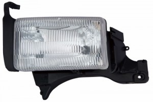 1994 -  2001 Dodge Ram 3500 Front Headlight Assembly Replacement Housing / Lens / Cover - Left (Driver) Side