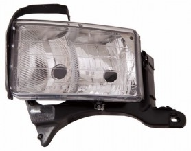 1999 -  2001 Dodge Ram 3500 Front Headlight Assembly Replacement Housing / Lens / Cover - Left (Driver) Side