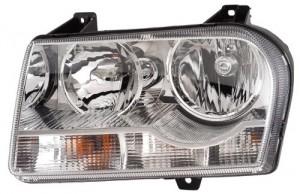 2005 2007 Chrysler 300 Front Headlight Embly Replacement Housing Lens Cover Left Driver Side 3 5l V6 2 7l