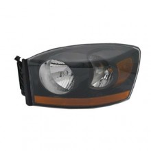 2006 Dodge Ram 3500 Front Headlight Assembly Replacement Housing / Lens / Cover - Left (Driver) Side