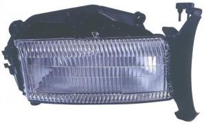 1997 -  2004 Dodge Dakota Front Headlight Assembly Replacement Housing / Lens / Cover - Right (Passenger) Side