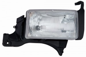 1994 -  2001 Dodge Ram 3500 Front Headlight Assembly Replacement Housing / Lens / Cover - Right (Passenger) Side