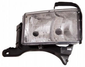 1999 -  2001 Dodge Ram 3500 Front Headlight Assembly Replacement Housing / Lens / Cover - Right (Passenger) Side