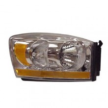 2006 Dodge Ram 3500 Front Headlight Assembly Replacement Housing / Lens / Cover - Right (Passenger) Side