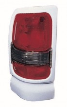 1994 -  2001 Dodge Ram 3500 Rear Tail Light Assembly Replacement / Lens / Cover - Left (Driver) Side