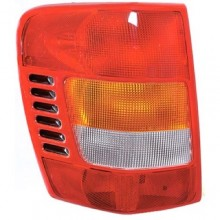 1999 -  2002 Jeep Grand Cherokee Rear Tail Light Assembly Replacement / Lens / Cover - Left (Driver) Side