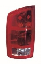 2002 -  2003 Dodge Ram 3500 Rear Tail Light Assembly Replacement / Lens / Cover - Left (Driver) Side