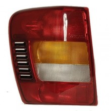 2002 - 2004 Jeep Grand Cherokee Rear Tail Light Assembly Replacement / Lens / Cover - Left (Driver) Side