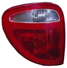 2004 -  2007 Chrysler Town & Country Rear Tail Light Assembly Replacement / Lens / Cover - Left (Driver) Side