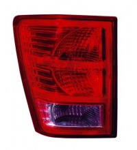 2007 -  2010 Jeep Grand Cherokee Rear Tail Light Assembly Replacement / Lens / Cover - Left (Driver) Side