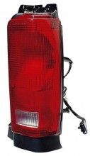1990 Chrysler Town & Country Tail Light Rear Lamp - Right (Passenger) Side