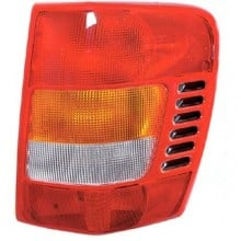 1999 -  2002 Jeep Grand Cherokee Rear Tail Light Assembly Replacement / Lens / Cover - Right (Passenger) Side