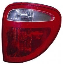 2004 -  2007 Chrysler Town & Country Tail Light Rear Lamp - Right (Passenger) Side