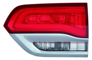 2014 -  2015 Jeep Grand Cherokee Tail Light Rear Lamp - Right (Passenger) Side Inner - (Laredo + Limited + Overland + Summit)