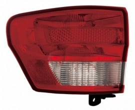 2011 -  2013 Jeep Grand Cherokee Rear Tail Light Assembly Replacement / Lens / Cover - Left (Driver) Side Outer