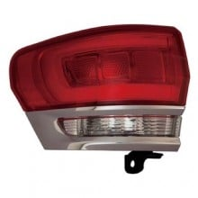 2014 -  2015 Jeep Grand Cherokee Rear Tail Light Assembly Replacement / Lens / Cover - Left (Driver) Side Outer - (Laredo + Limited + Overland + Summit)