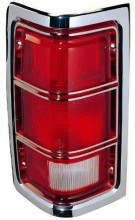 1981 - 1987 Dodge D150 Tail Light Lens - Right (Passenger) Side Replacement