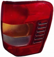 2002 -  2004 Jeep Grand Cherokee Tail Light Housing (CAPA Certified) - Right (Passenger) Side Replacement