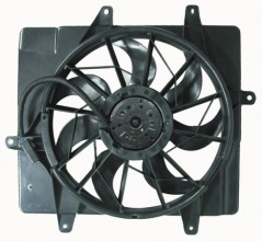 2001 -  2005 Chrysler PT Cruiser Engine / Radiator Cooling Fan Assembly - (Naturally Aspirated)