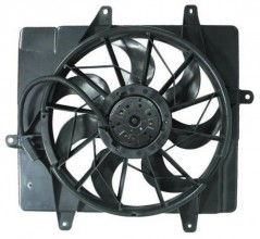 2006 -  2010 Chrysler PT Cruiser Engine / Radiator Cooling Fan Assembly - (Naturally Aspirated)