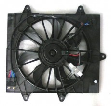 2006 -  2009 Chrysler PT Cruiser Engine / Radiator Cooling Fan Assembly - (Turbocharged)
