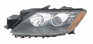 2007-2009 Mazda CX7 Headlight Assembly - Left (Driver)