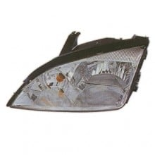 2005 -  2007 Ford Focus Front Headlight Assembly Replacement Housing / Lens / Cover - Left (Driver) Side - (S + SE + SES + ST + ZX3 + ZX4 + ZX4 ST + ZX5 + ZXW)