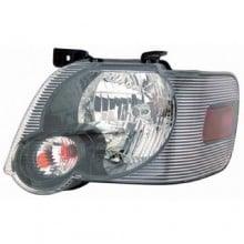 2006 - 2010 Ford Explorer Front Headlight Assembly Replacement Housing / Lens / Cover - Left (Driver) Side