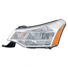 2008 -  2011 Ford Focus Front Headlight Assembly Replacement Housing / Lens / Cover - Left (Driver) Side - (Sedan)