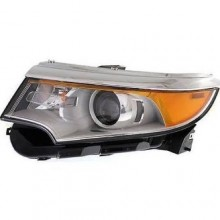 Ford Edge Front Headlight Assembly Replacement Housing Lens Cover Left