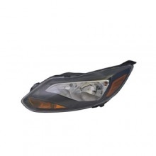2012 -  2014 Ford Focus Front Headlight Assembly Replacement Housing / Lens / Cover - Left (Driver) Side - (Titanium Sedan + Hatchback)