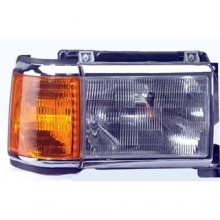 1987 - 1991 Ford F-150 Front Headlight Assembly Replacement Housing / Lens / Cover - Right (Passenger) Side