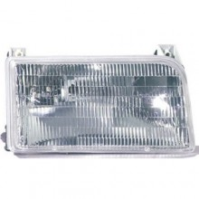 1992 - 1997 Ford F-150 Front Headlight Assembly Replacement Housing / Lens / Cover - Right (Passenger) Side