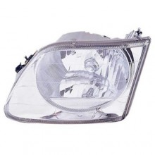 2001 - 2004 Ford F-150 Front Headlight Assembly Replacement Housing / Lens / Cover - Right (Passenger) Side - (Lightning)