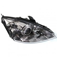 2002 -  2005 Ford Focus Front Headlight Assembly Replacement Housing / Lens / Cover - Right (Passenger) Side - (High + LX + Mid + SE + ZTS + ZTW + ZX3 + ZX4 + ZX4 ST + ZX5 + ZXW)