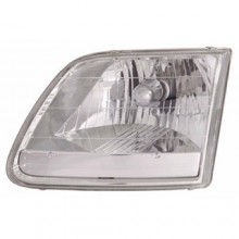 1996 - 2004 Ford F-150 Front Headlight Assembly Replacement Housing / Lens / Cover - Right (Passenger) Side - (Lariat + STX + XL + XLT)