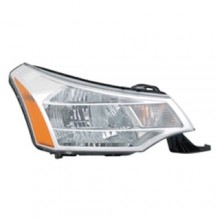 2008 -  2011 Ford Focus Front Headlight Assembly Replacement Housing / Lens / Cover - Right (Passenger) Side - (Sedan)