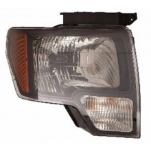 2010 - 2014 Ford F-150 Front Headlight Assembly Replacement Housing / Lens / Cover - Right (Passenger) Side - (SVT Raptor)