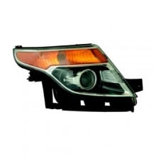 2011 - 2013 Ford Explorer Front Headlight Assembly Replacement Housing / Lens / Cover - Right (Passenger) Side