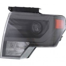 2013 - 2014 Ford F-150 Front Headlight Assembly Replacement Housing / Lens / Cover - Left (Driver) Side - (SVT Raptor)
