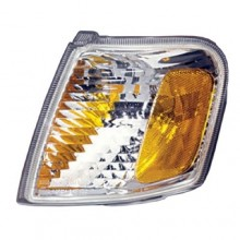 2001 - 2005 Ford Explorer Parking Light Assembly Replacement / Lens Cover - Left (Driver) Side - (Sport + Sport XLS + Sport XLT)