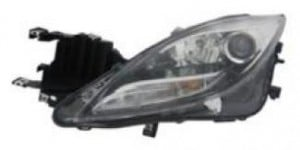 2011-2013 Mazda 6 Mazda6 Headlight Assembly - Left (Driver)