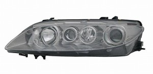 2003-2005 Mazda 6 Mazda6 Headlight Assembly (with Fog Lamps / Type 2 / Lens & Body) - Left (Driver)