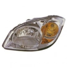 2005 -  2010 Chevrolet Cobalt Headlight Assembly - Left (Driver) Side - (Base Model + LS + LT + LTZ + SS 2.4L L4)